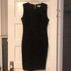 Calvin Klein cheetah print dress size 10